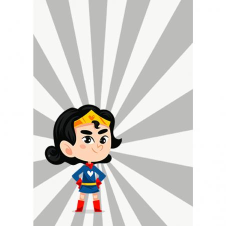 Puzzle personnalisable - Heroine|La chouette mauve|Livraison rapide|Fabrication en France
