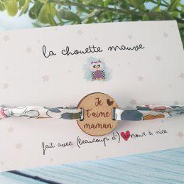 Bracelet bois & cordon...