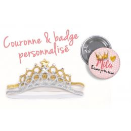 Couronne + badge...