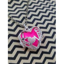 Bola de grossesse Coeur rose
