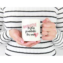 Mug personnalisable La plus formidable des amies