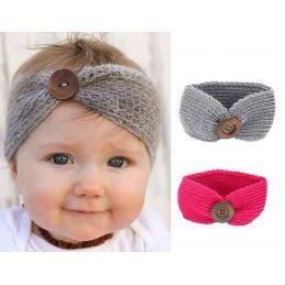 Headband tricoté pour bébé...