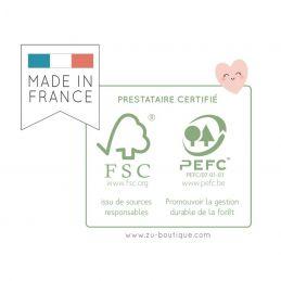 KIT Souvenirs de grossesse-  Zü La chouette mauve Livraison rapide Fabrication en France