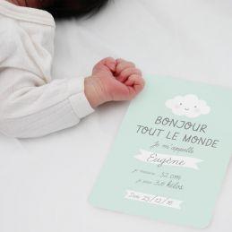 Carte naissance Bonjour (3...