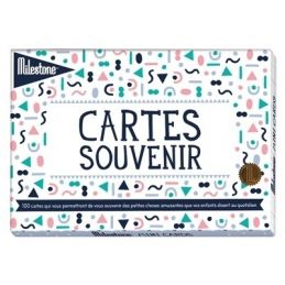 100 mini cartes Souvenir de...