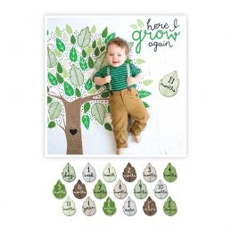 "Lange en coton & cartes étapes  - ""Here I grow again"" -..."
