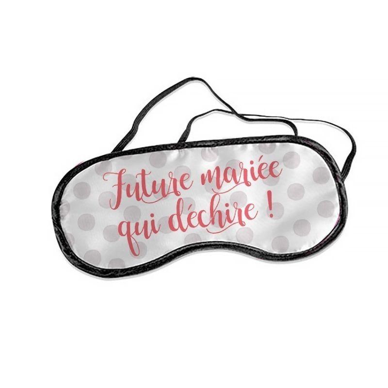 7dd5d43af9b Masque à offrir à la future mariée et qui pourra aussi être utile lors de  vos animations de l enterrement de vie de jeune fille pour lui bander les  yeux !