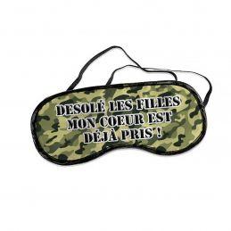 Masque personnalisable EVG modèle militaire