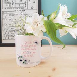 Mug personnalisable  La plus gentille des maitresses