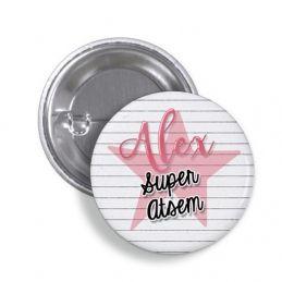 Badge Super ATSEM personnalisé