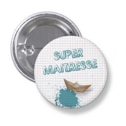 Badge Super maître ou...