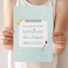 """Grande carte """"Ma première..."""