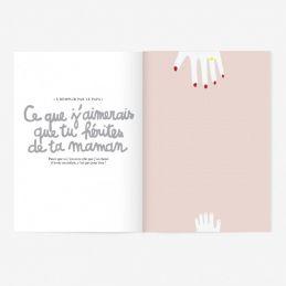 9 mois à t'attendre Cahier de grossesse|La chouette mauve|Livraison rapide|Fabrication en France