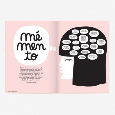 Oh my god je me marie Cahier de mariage|La chouette mauve|Livraison rapide|Fabrication en France