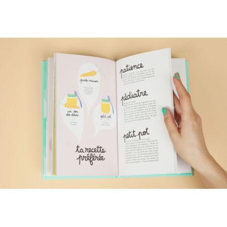 TA PREMIERE ANNÉE DE A À Z Cahier de naissance|La chouette mauve|Livraison rapide|Fabrication en France