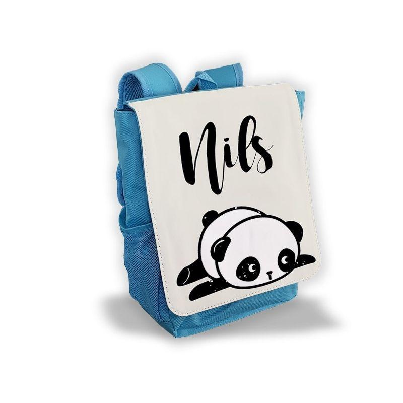 Sac à dos personnalisé pour enfant modèle Panda La chouette mauve Livraison rapide Fabrication en France