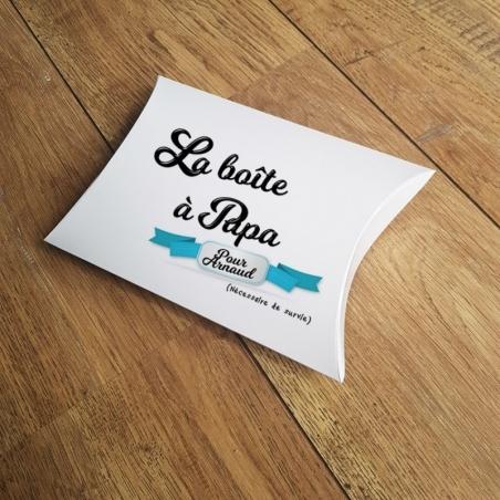 Boîte à papa vide personnalisable|La chouette mauve|Livraison rapide|Fabrication en France