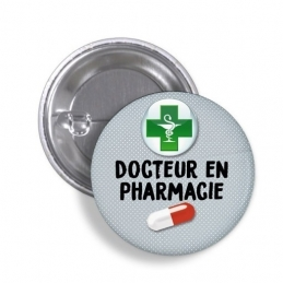 Badge Docteur en Pharmacie