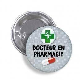 Badge Docteur en Pharmacie