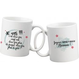 Mug personnalisable...