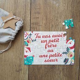 Puzzle personnalisable - Noël