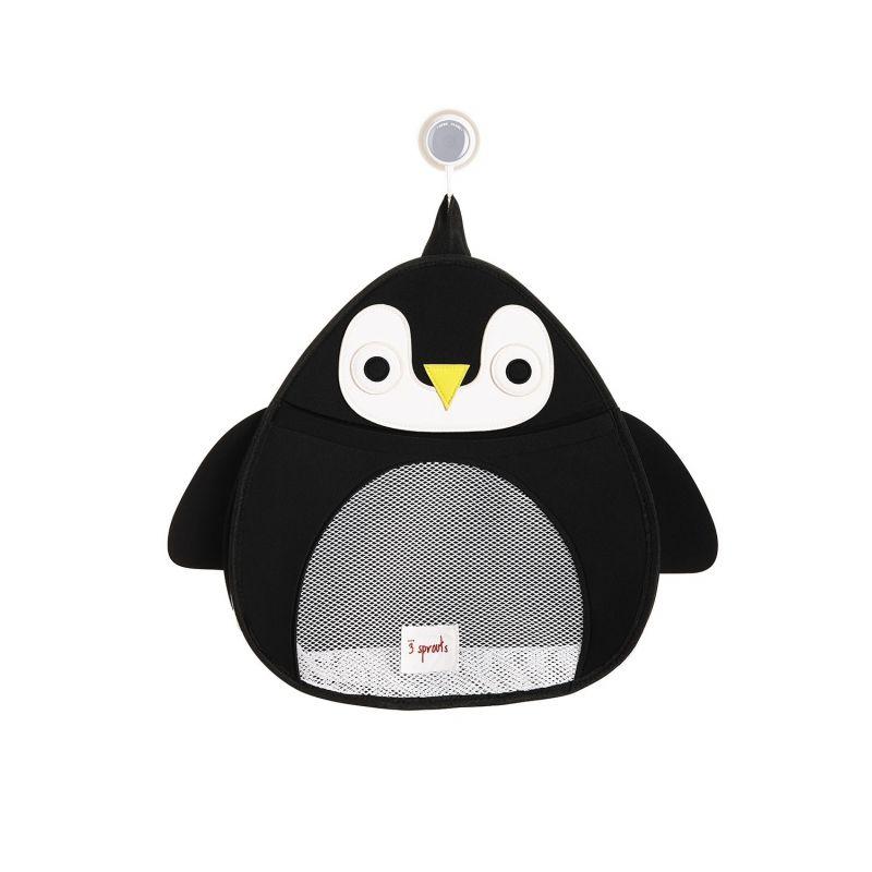 Rangement pour le bain modèle Pingouin La chouette mauve Livraison rapide Fabrication en France