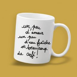 Mug  Un peu d'amour...