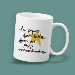 Mug Les papas formidables...