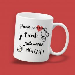 Mug  personnalisable Promis...