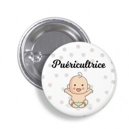 Badge Puéricultrice