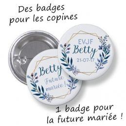 Badges EVJF rond grand...