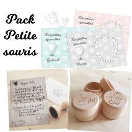 Pack 3  produits Petite Souris