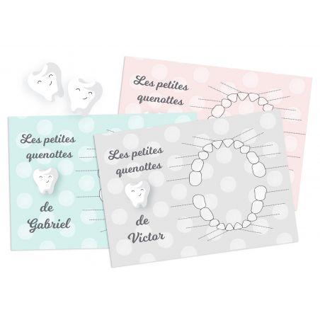 Pack 3  produits Petite Souris dent La chouette mauve Livraison rapide Fabrication en France
