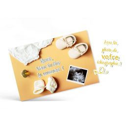 Carte annonce de grossesse...