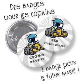 Badges EVG rond grand...