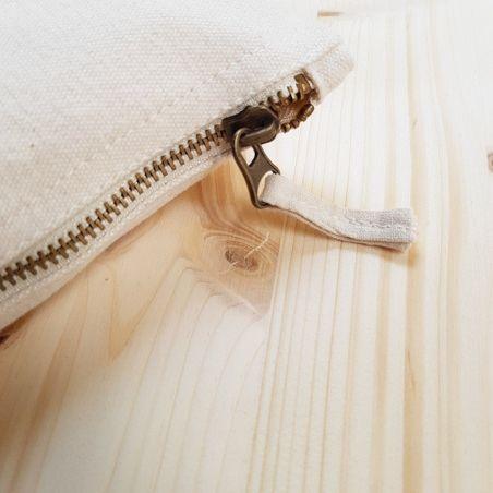 Pochette coton personnalisable pour Formidable Maman La chouette mauve Livraison rapide Fabrication en France