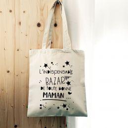 Tote bag Le bazar de Maman