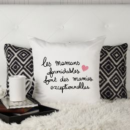 """Coussin """"Les mamans..."""
