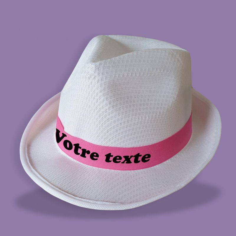 Chapeau personnalisé EVG EVJF blanc|La chouette mauve|Livraison rapide|Fabrication en France
