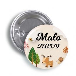 Badges ou magnets Forest
