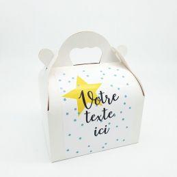 Box / boîte cadeau avec...