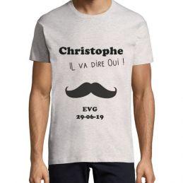 "Tshirt EVG ""Moustache"""