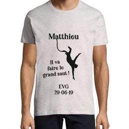"""Tshirt EVG """"Saut à..."""