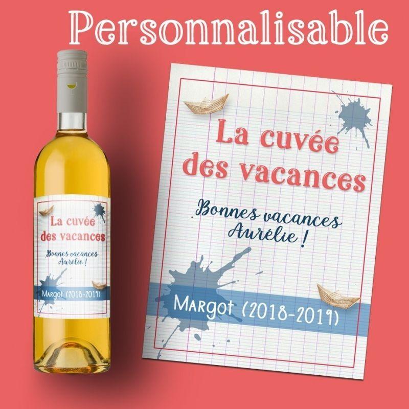 Personnalisé Gravé merci Vin Boîte Cadeau Unique 1 flacon