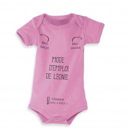 Body bébé personnalisé Mode...