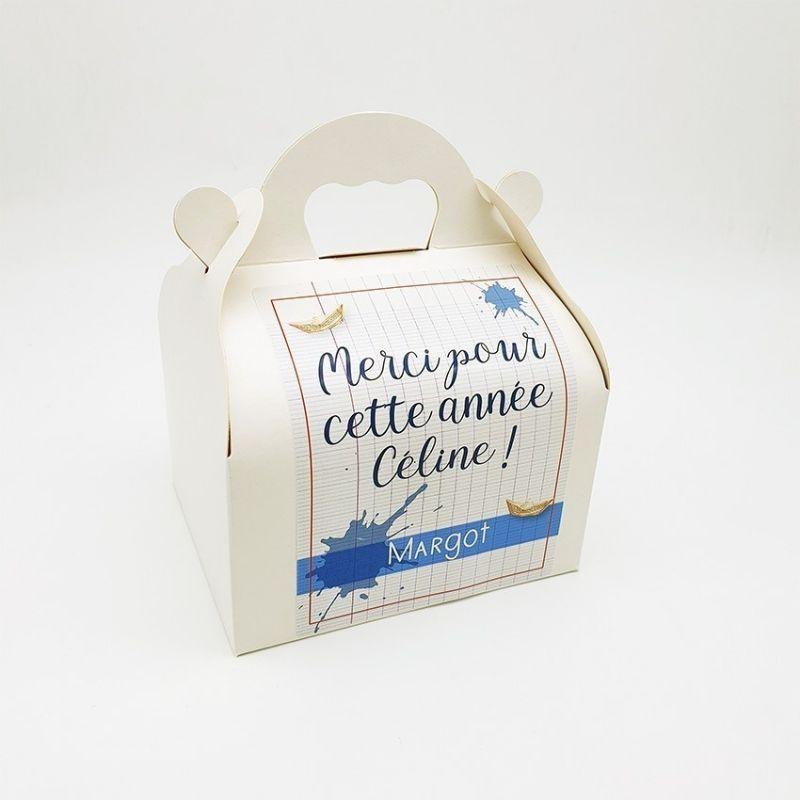Box / boîte cadeau avec message personnalisé|La chouette mauve|Livraison rapide|Fabrication en France