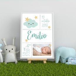 Affiche de naissance...