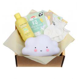 Boîte cadeau bébé remplie