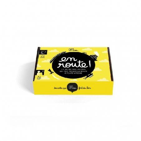 """Jeu """"En route !"""" Kit de discussion La chouette mauve Livraison rapide Fabrication en France"""