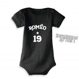 Body bébé personnalisé au...